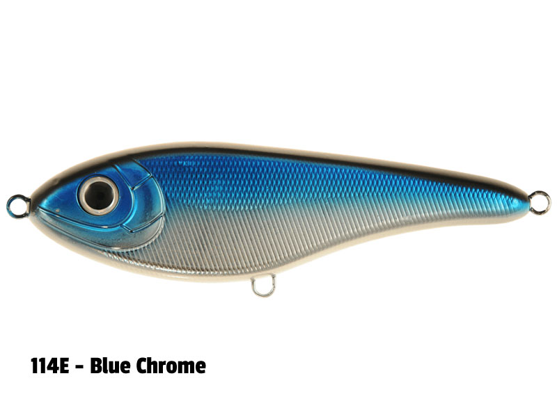 114E - Blue Chrome