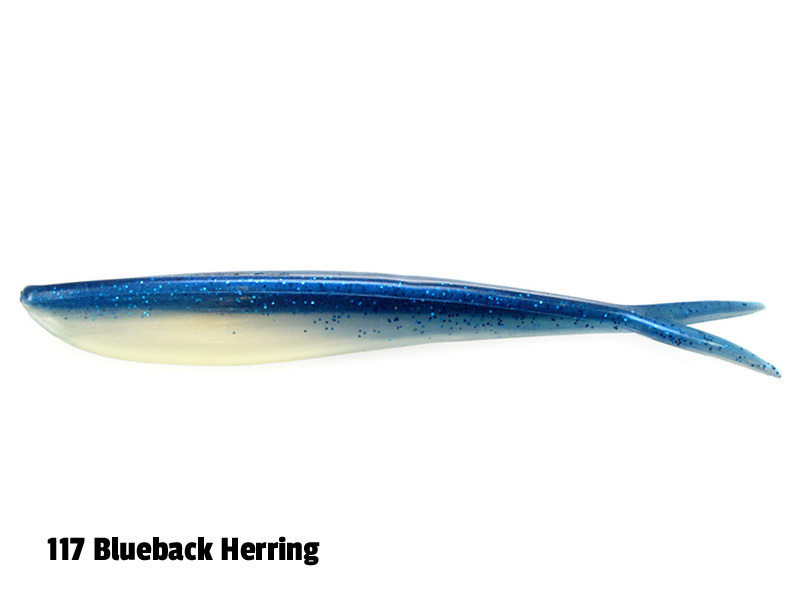 Lunker City Fin-S - 14,5 cm - 8-p - 117 Blueback Herring