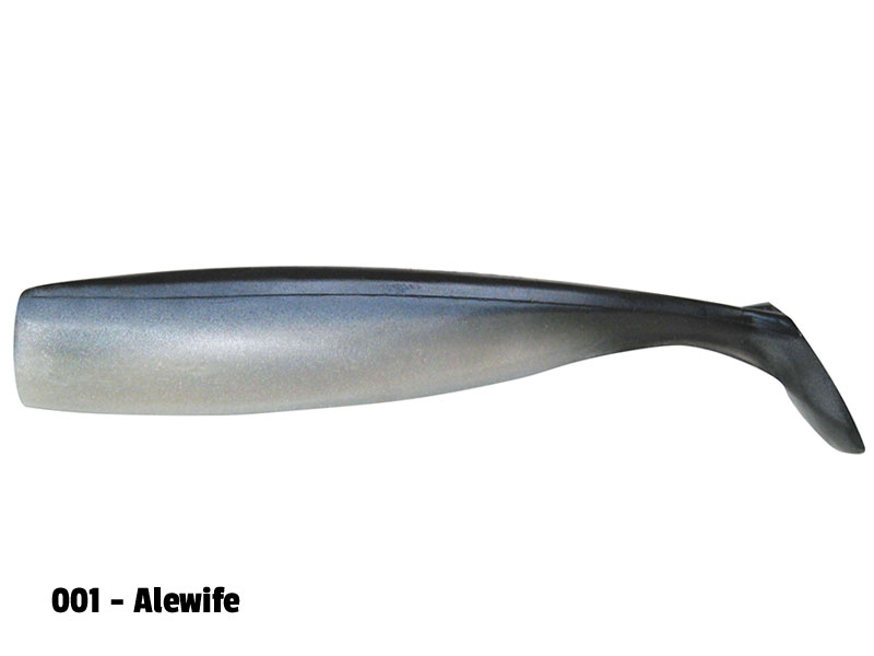 Lunker City Shaker Shad - 8-p - 11,5 cm - Alewife
