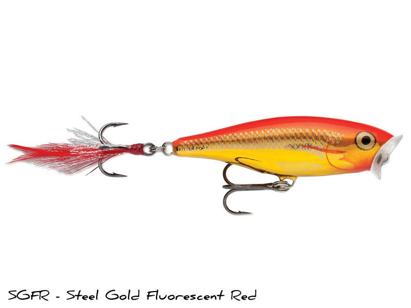 SGFR - Steel Gold Fl. Red