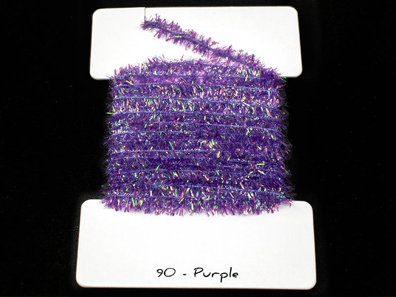 Cactus Chenille - 6mm - Purple