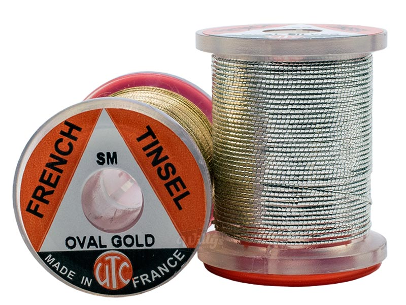Tinsel UTC - Oval - Guld - Large