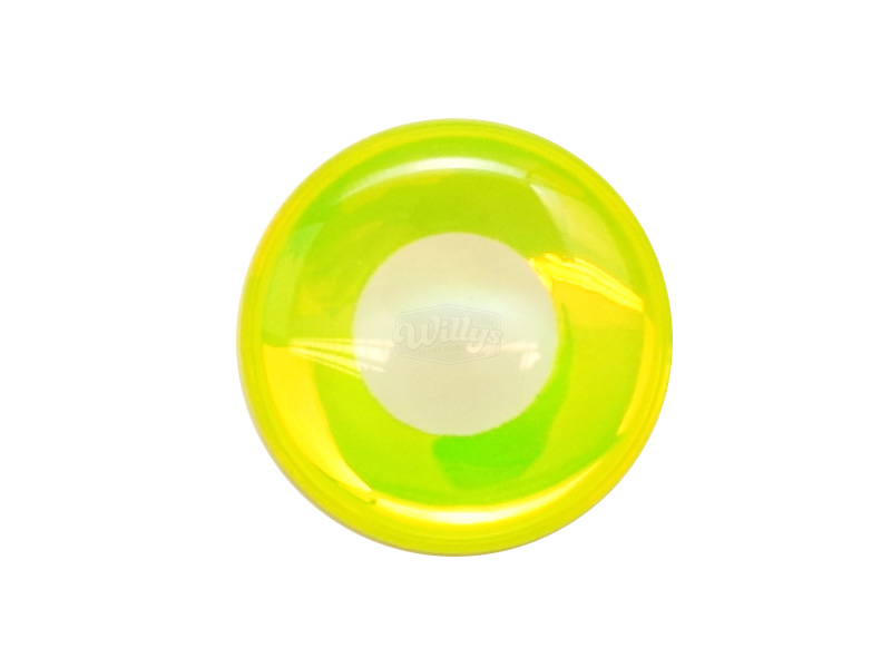 Epoxyögon - White/Yellow - 5,5 mm