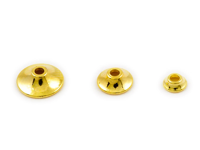Fits Brass Turbo Cone - 10st - Gold - Small