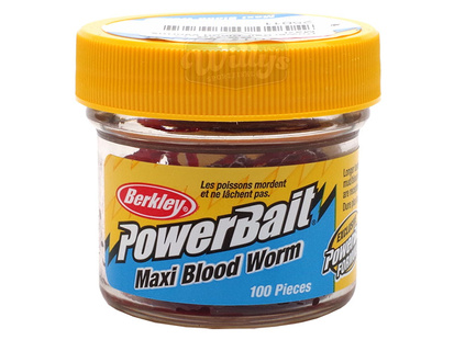 PowerBait Blood Worms - Maxi