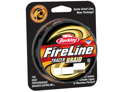 Fireline Tracer Braid - 110 Meter - Yellow/Black - 0,18 mm