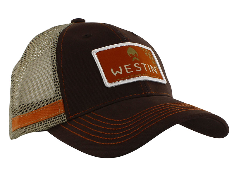Westin Hillbilly Trucker Cap - Grizzly Brown