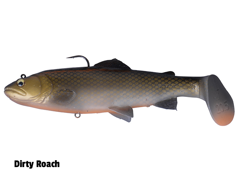 SG 3D Trout Rattle Shad - 20,5cm - Dirty Roach