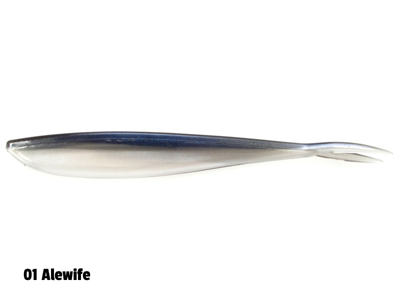 Lunker City Fin-S - 17 cm - 5-p - 001 Alewife