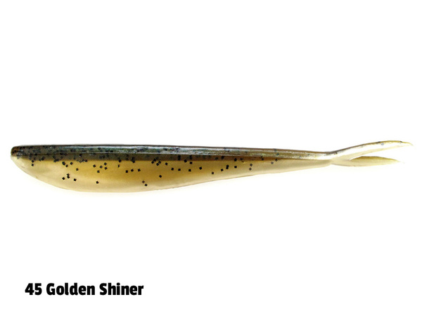 Lunker City Fin-S - 14,5 cm - 8-p - 045 Golden Shiner