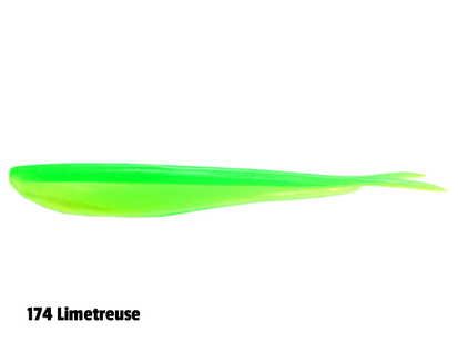 Lunker City Fin-S - 14,5 cm - 8-p - 145 Chartreuse Pepper Shad
