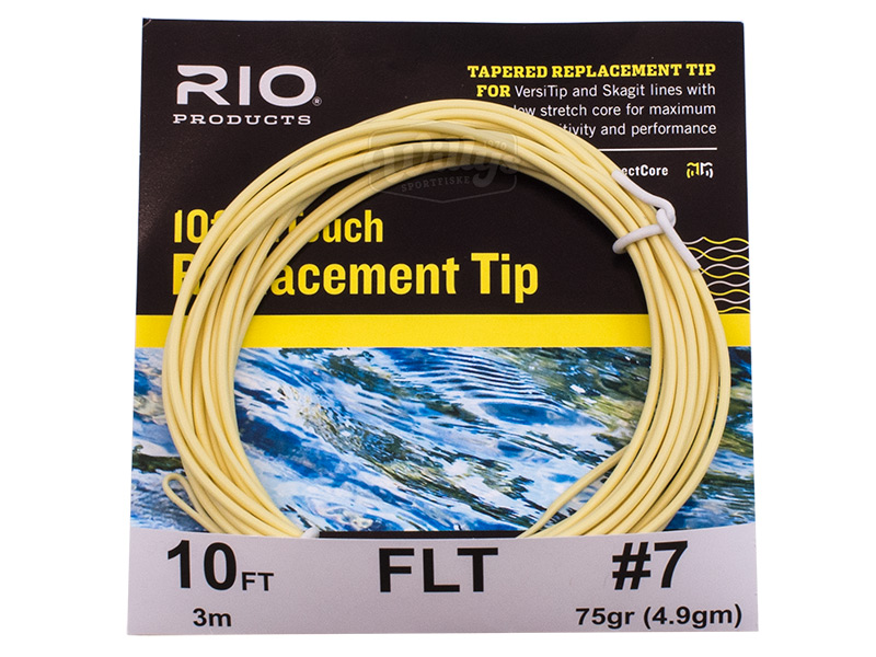RIO InTouch Replacement Tip - 10' - Sink 6 - #7
