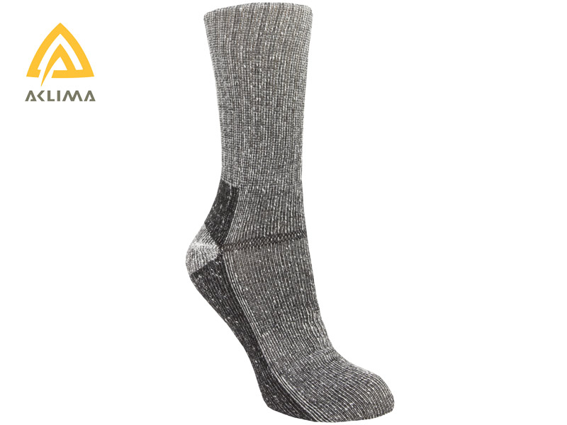 Aclima Hotwool Socks - Grey Melange - 40-43
