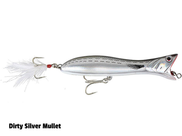 SavageGear Panic Popper - 195mm - 111g - Dirty Silver Mullet