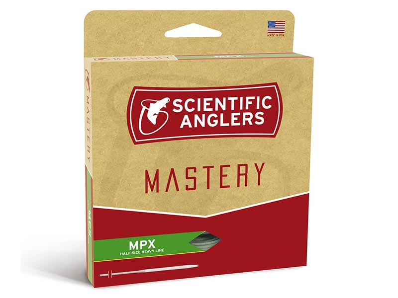 Scientific Anglers Mastery MPX - WF - Flyt - Amber/Willow - #7