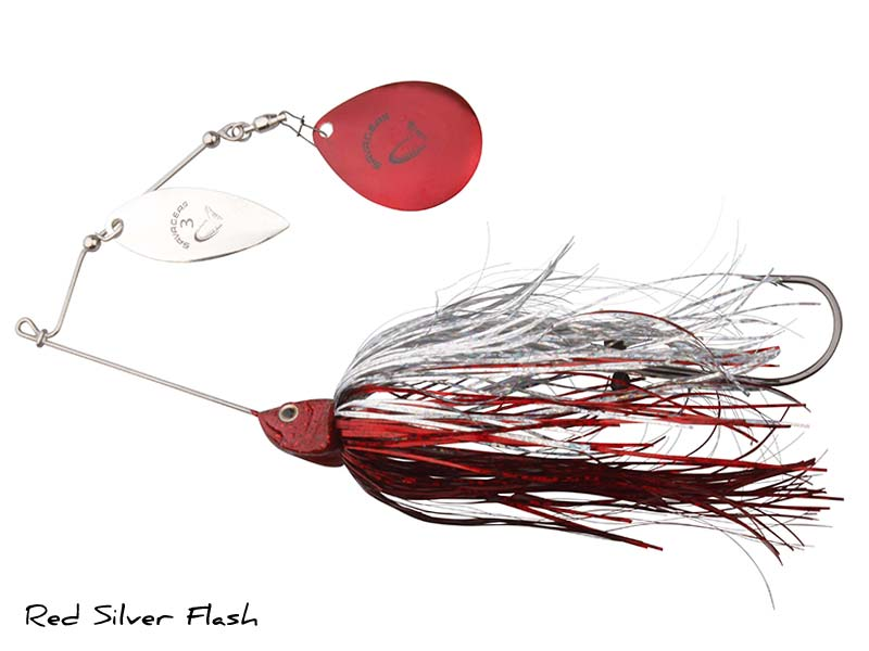 SavageGear Da'Bush Spinnerbait - 42gr - Red Silver Flash