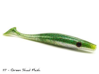 Pig Shad Jr - 20cm - 2-p - 122 - Blue Herring