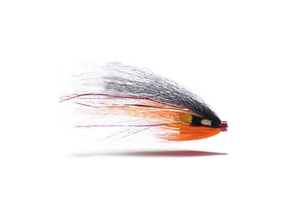 River Bullet Silver - 1/2 - Black/Orange/Yellow