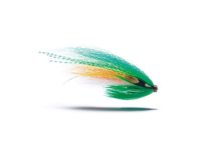 River Bullet Silver - 1/2 - Green/Yellow/White