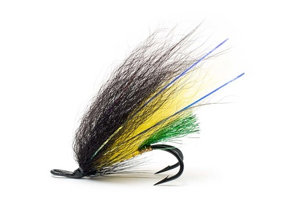 Laxfluga 2-pack - Yellow Mann Double