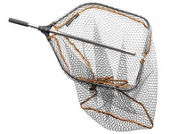 SavageGear Pro Folding Rubber Mesh Landing Net - XL