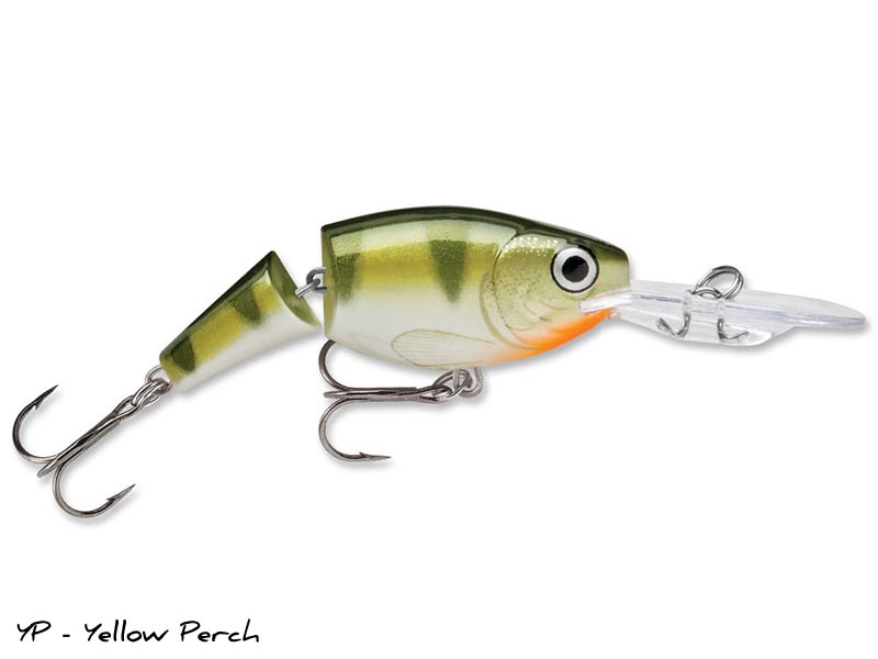 Rapala Shad Rap Jointed - 7 cm - YP