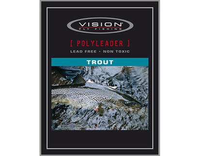 "Vision Polytafs ""Trout"" - 6' - Extra Fast Sink"
