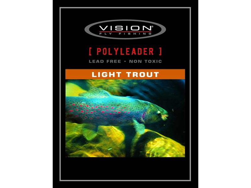 "Vision Polytafs ""Light Trout"" - 5' - Fast Sink"