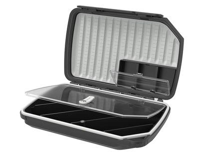 Flugask Loop Opti 180 Tube Fly Box - Grey