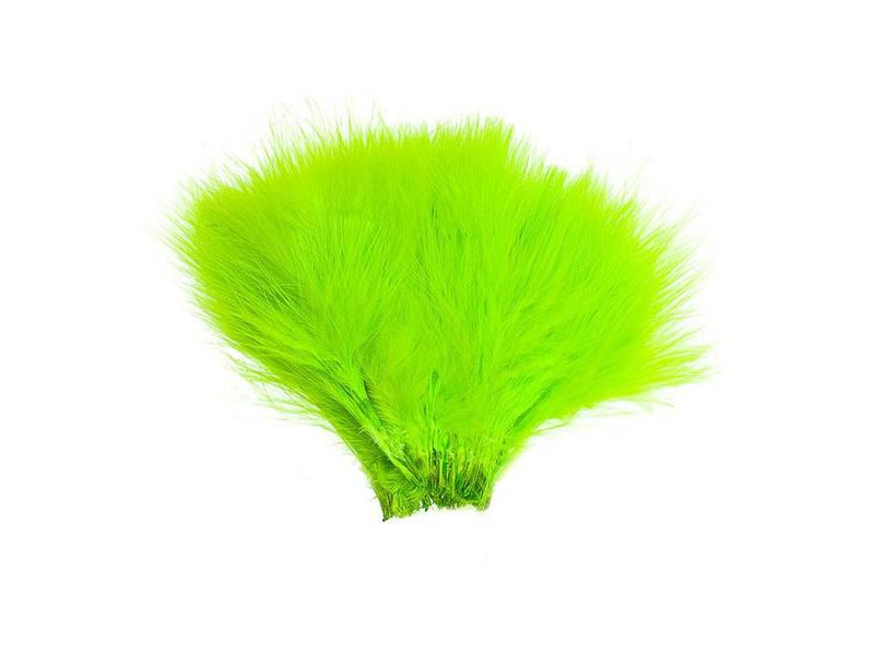 Wolly Bugger Marabou - Fluo Chartreuse