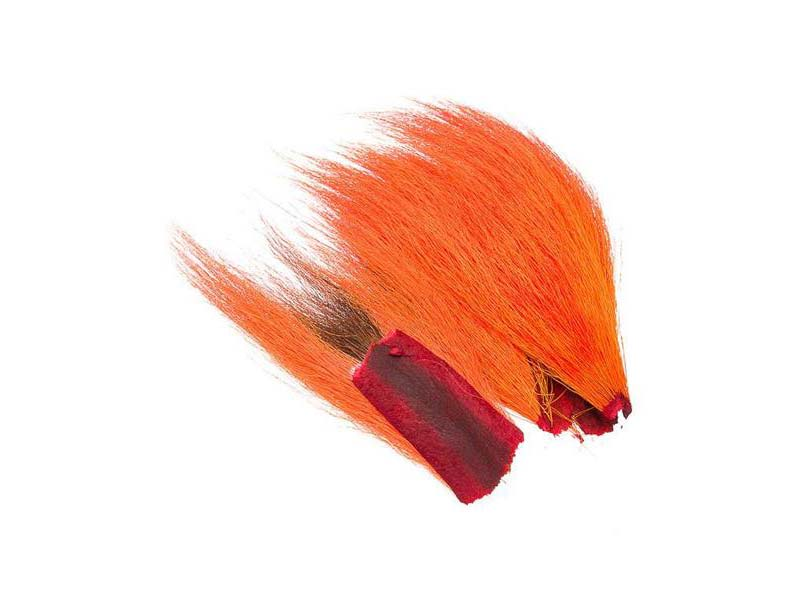 Bucktail Bitar - Fluo Fire Orange