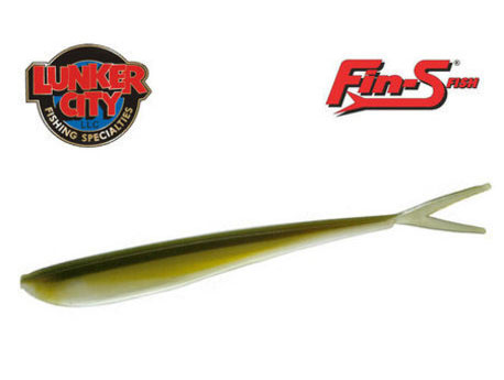 Lunker City Fin-S - 17 cm - 5-p - 006 Arkansas Shiner
