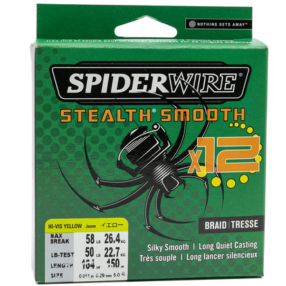Spiderwire Stealth Smooth X12