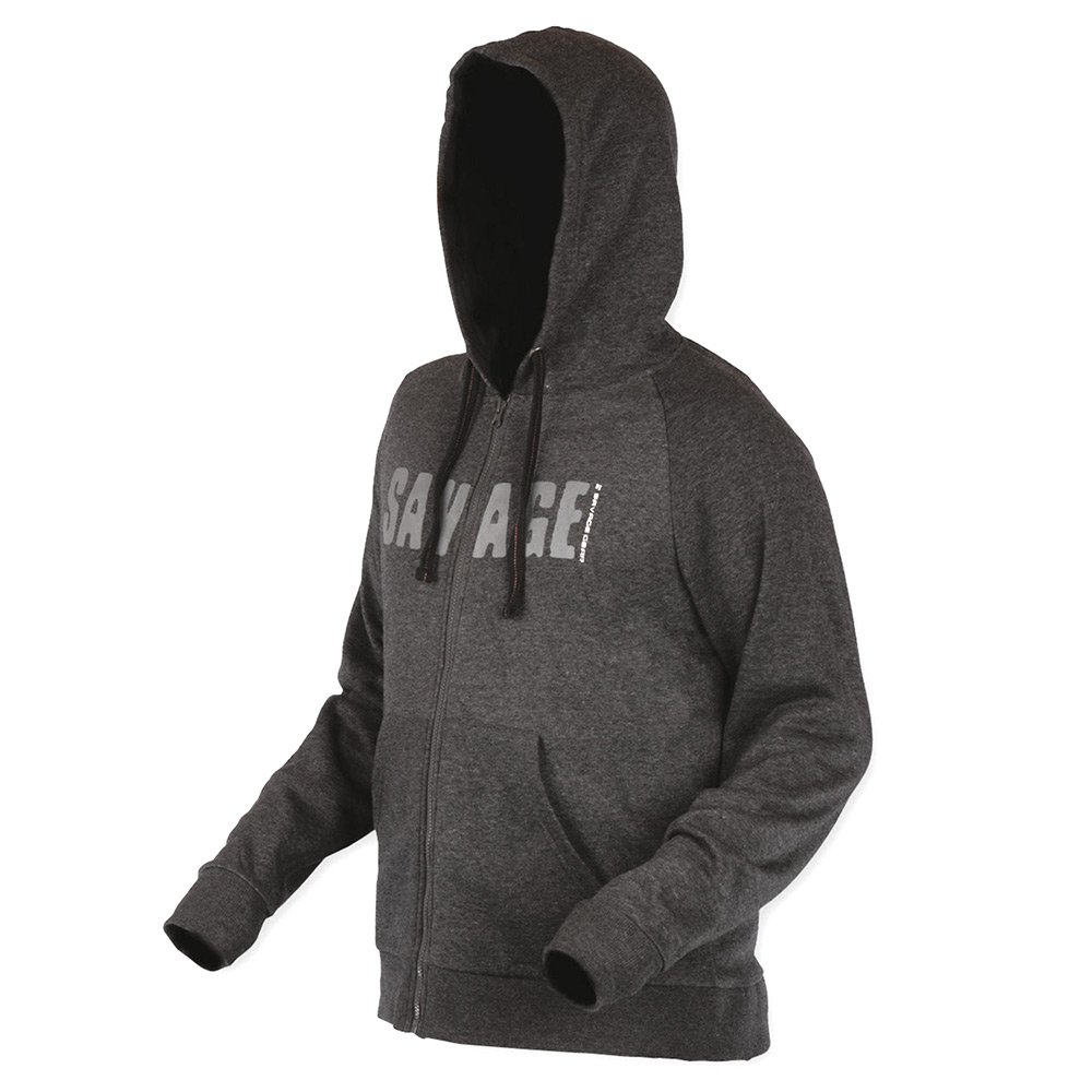 SavageGear Simply Savage Zip Hoodie - Medium