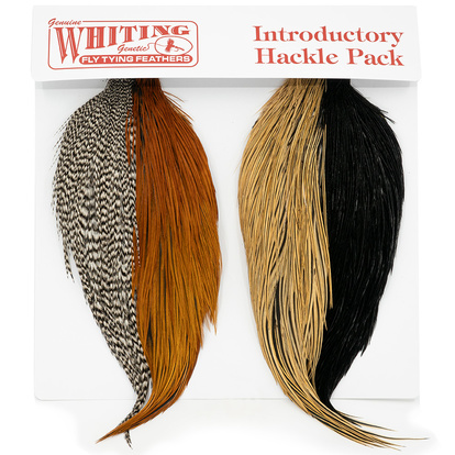 Whiting Introductory Hackle Pack - 4st 1/2 Nackar (GBBB)