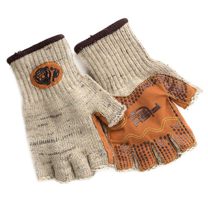 Fish Monkey Wooly Half Finger Gloves