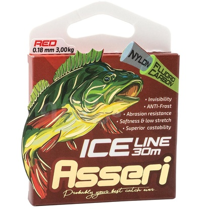 Asseri Ice Line (Fluorocoated) - Red