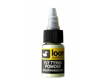 Loon Fly Tying Powder - Phosphorescent