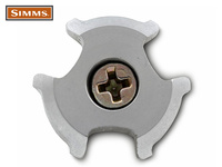 Simms AlumiBite Star Cleat - 10st