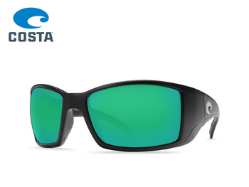 Costa Del Mar - Blackfin - Black - Green Mirror - 580P