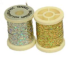 Holographic Tinsel - Guld - Large