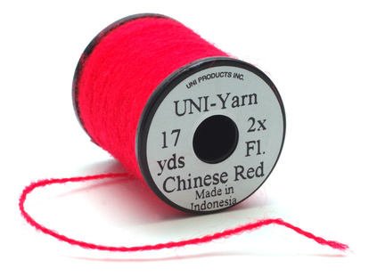 Uni Yarn - Fluo Chinese Red