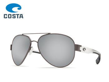 Costa Del Mar - South Point - Gunmetal/Crystal - Silver Mirror - 580P