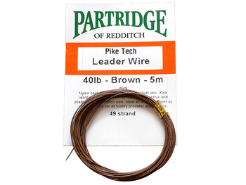 Partridge Pike Wire - 5m - 40lb (18kg)