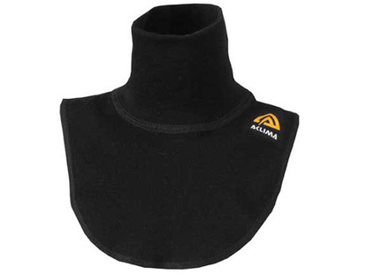 Aclima WarmWool Neck Warmer - Jet Black