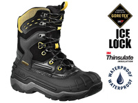 Kamik Keystone Gore-Tex - Black/Yellow - 47,5 (US13)
